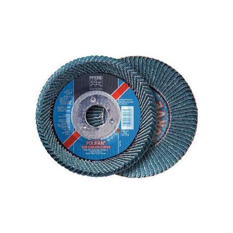 Disco de láminas Polifan 125 Z 40 SGP-Curve M/22,23 PFERD