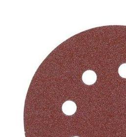 Disco de lija 125mm con Fijación Rápida (8 orif.) - 120 gr - 5uds 4932367743
