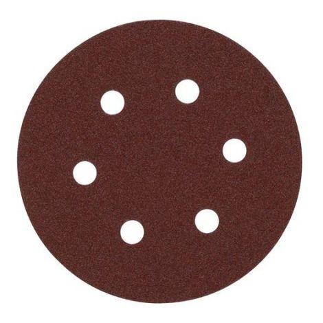 Disco de lija 150mm con Fijación Rápida (6 orif.) 180gr - 5uds 4932371594