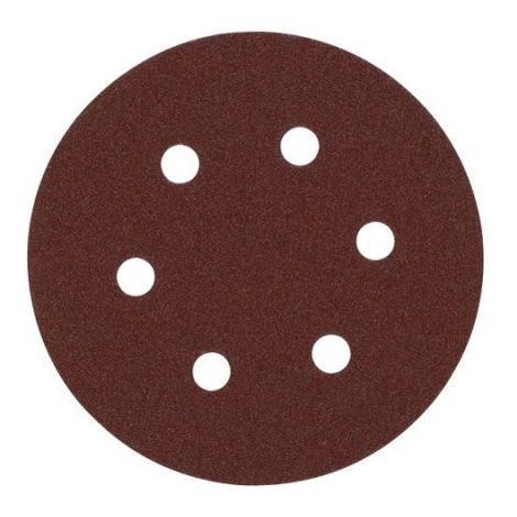 Disco de lija 150mm con Fijación Rápida (6 orif.) 40gr - 25uds 4932371596