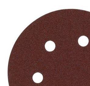 Disco de lija 150mm con Fijación Rápida (6 orif.) 80gr - 5uds 4932371592