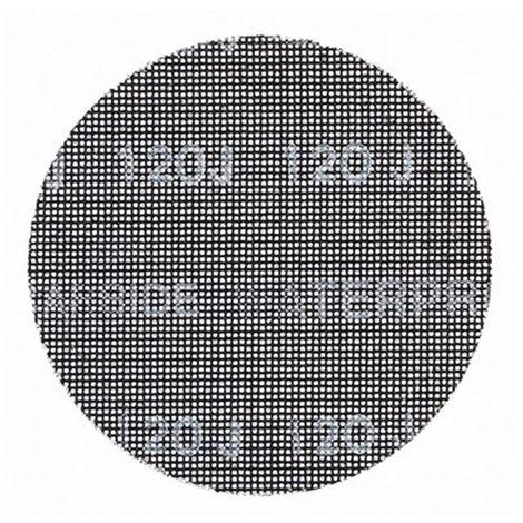 Disco de lija de malla 150mm, grano 320, para usar con todo tipo de lijadora rotorbital DEWALT