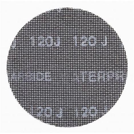 Disco de lija de malla 150mm, grano 40, para usar con todo tipo de lijadora rotorbital DEWALT
