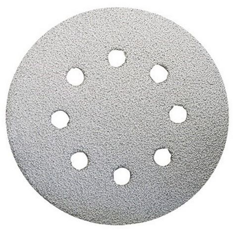 Disco de lija diametro 125 grano 40 velcro - MAKITA - Ref: P-33342 Envase de : 10 unidades