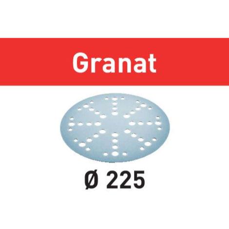 Disco de lijar STF D225/128 P100 GR/25 Granat Festool