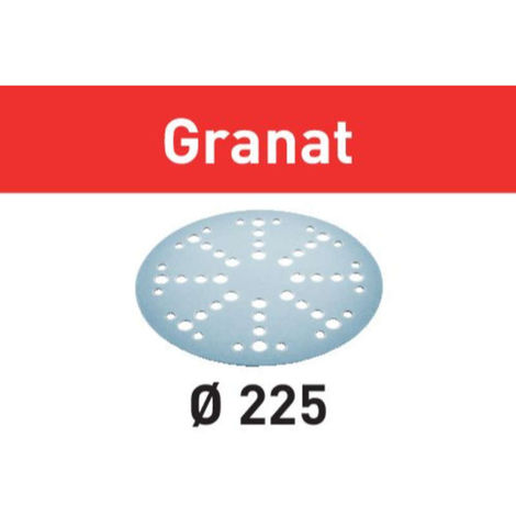 Disco de lijar STF D225/128 P120 GR/25 Granat Festool