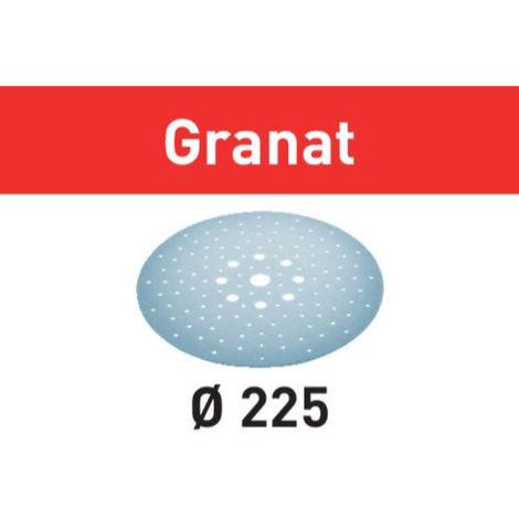 Disco de lijar STF D225/128 P320 GR/5 Granat Festool
