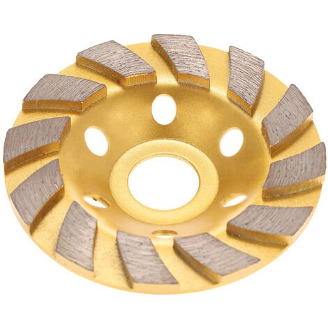 "Disco de muela abrasiva de segmento de diamante de 100 mm 4 "", orificio interno de 22 mm"