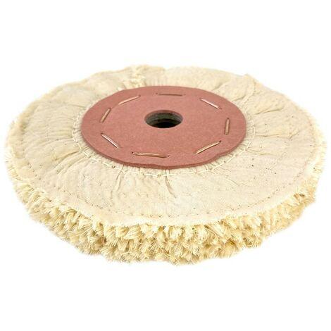 Disco de paño de sisal para pulir