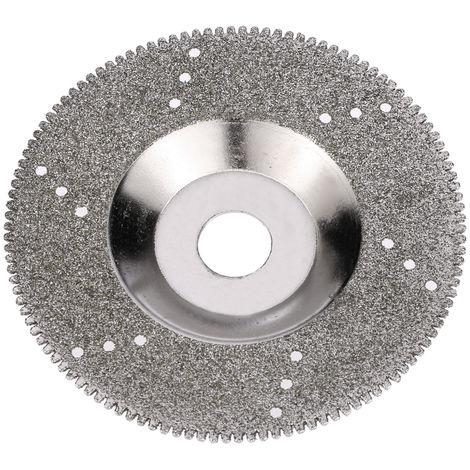 "Disco de pulido de pulido, sierra de disco, 16 mm de diametro interno,100 mm,4 ""pulgadas,Dentado"
