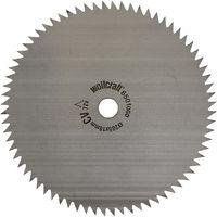 Disco de sierra circular cortes finos y fáciles Wolfcraft 205 x 18 mm 72 dientes