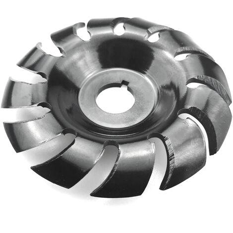 Disco de talla de madera, disco de molienda de amoladora de 16 mm, 90 mm, 12 dientes
