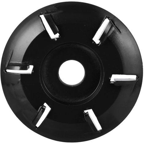 Disco de talla de madera Power de seis dientes, para amoladora angular de apertura de 16 mm