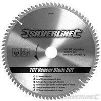 Disco de TCT para madera contrachapada, 80 dientes 250 x 30 - anillos de 25, 20 y 16 mm