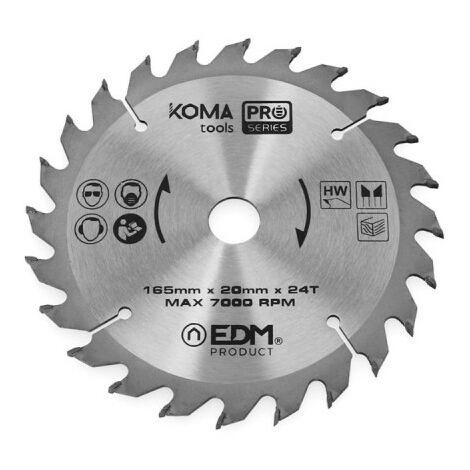 Disco dentado KOMA - 165mm - 08720