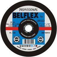 DISCO DESBASTE ACERO 178X6.4 FL/AN A24BF