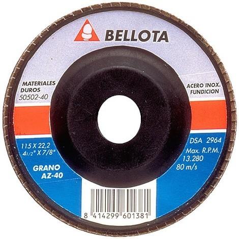Disco desbaste Bellota 50502 115 mm