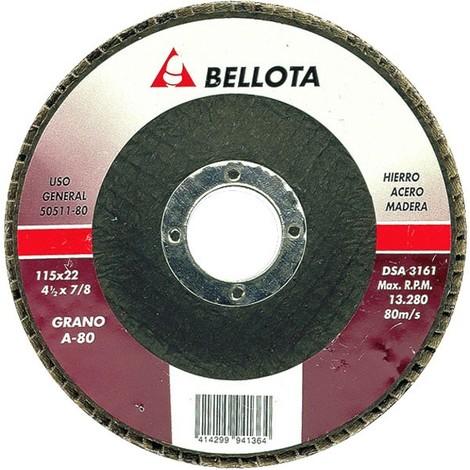 Disco desbaste láminas metal Bellota 50511 115 mm