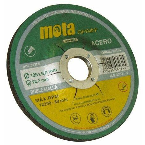 Disco desbaste ox. 180 x 6.0 x 22.23 mm. d1860