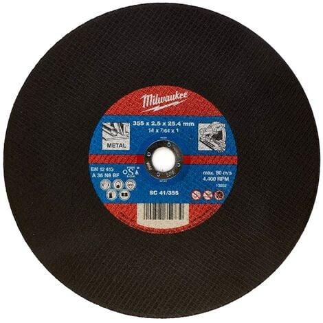Disco di ricambio per troncatrice ferro SC 41/355 diam. 355 mm