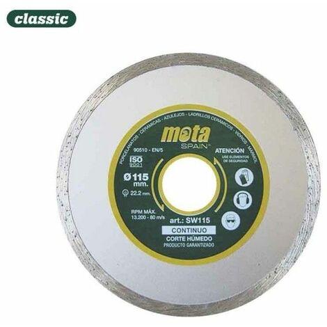Disco diam liso humedo 115mm clp18 sw115-p