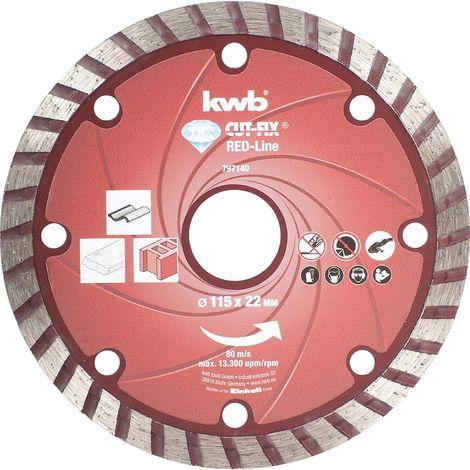 Disco Diamant CUTFIX Red 115X22mm SB KWB