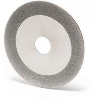 Disco diamantato 105 mm per affilare lame circolari a forma di cuneo