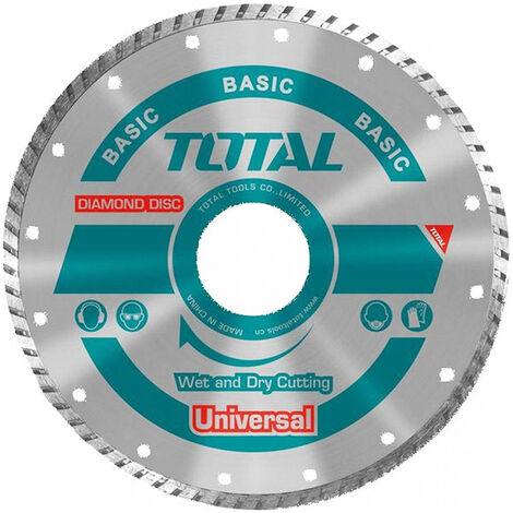 Disco diamante amoladora 125mm Total Tools TAC2131253