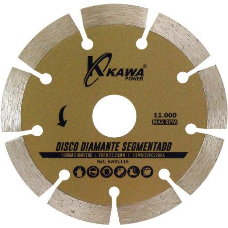 DISCO DIAMANTE SEGMENTADO 115X1.9X22.23X10MM