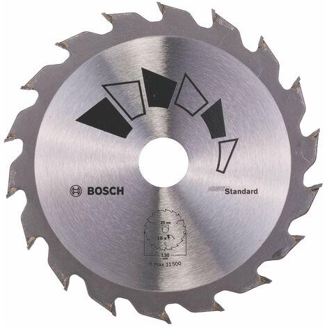 Disco estándar Bosch para sierra circular 130 x 20/16 mm 18 dientes