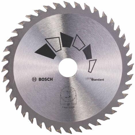 Disco estándar Bosch para sierra circular 140 x 20/12.7 mm 40 dientes