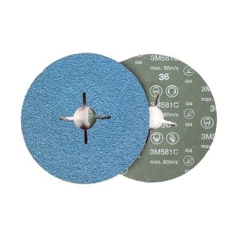 Disco fibra 581c 115mm p120 3M