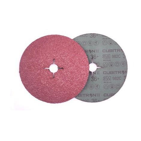 Disco fibra Cubitron II 982C 115ø G80 (10 unidades) 3M