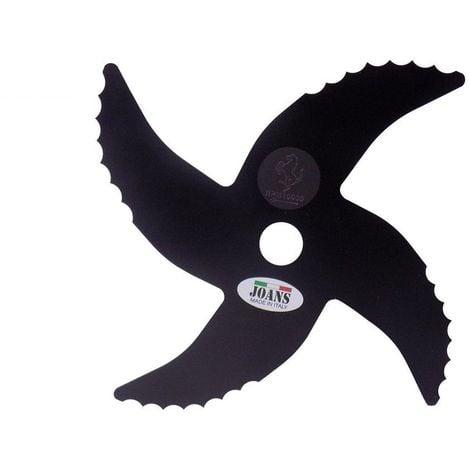 Testina disco UNICO mulching lama coltello per decespugliatore in acciaio JOANS
