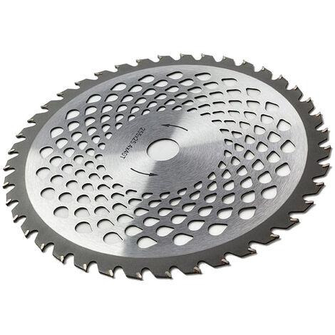 Disco lama in acciaio premium con 40 denti per decespugliatore e tagliaerba