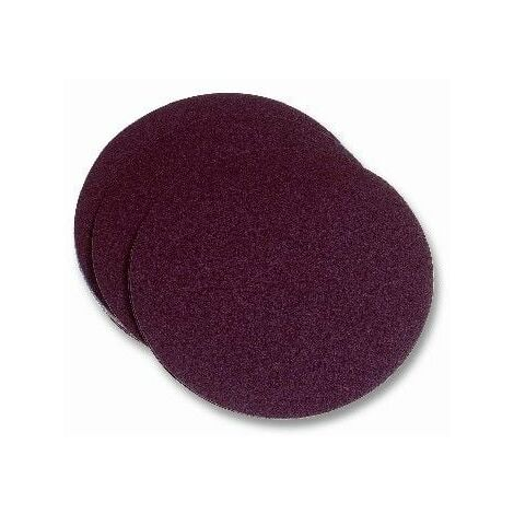 Disco Lija Papel Velcro Para Lijadora Grano 120 115 Mm Pg Maxi