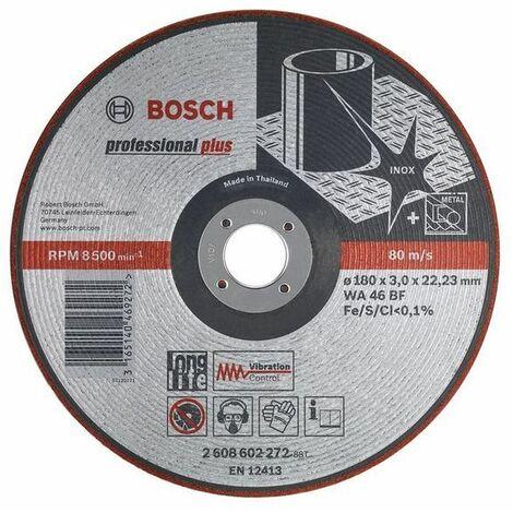 Disco lijador WA 46 BF, 125 mm, 22,23 mm, 3,0 mm Bosch