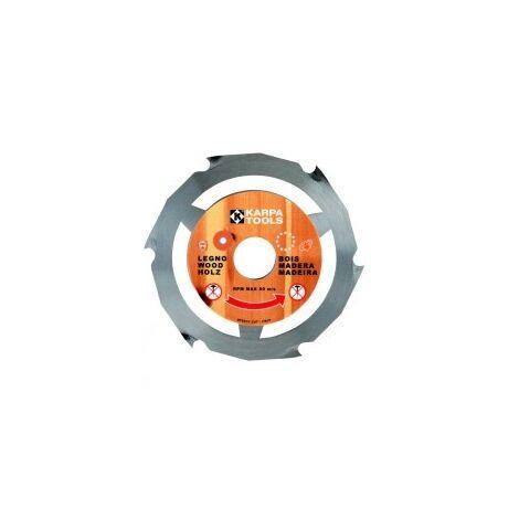 DISCO MADERA/PVC 115MM 22,2MM