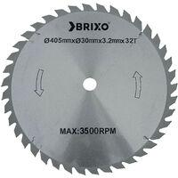 Disco per sega Tronchi Brixo Maxi Sherwood Ø 50 cm lama 505x30x2,5 mm