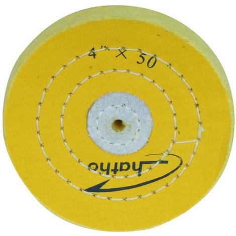 Disco pulidor de muselina Ø100 x 15 mm para PM 100 Proxxon