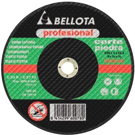 Disco Radial Amoladora Corte Piedra Pro - BELLOTA - 50302 - 125X3 MM...