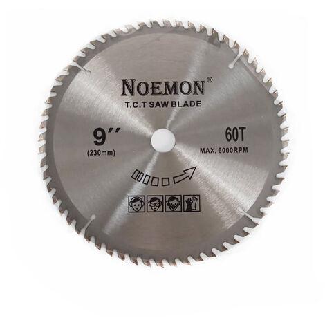 """main image of """"Disco sega circolare taglio smerigliatrice lame sega legna rotante dm 230 mm"""""""