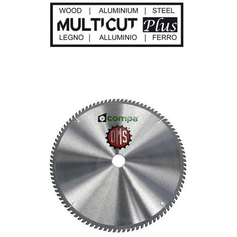 Disco troncatrice Compa 250mm 36D lama sega legno ferro alluminio