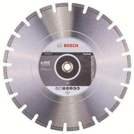 Disco tronzador de diamante 400mm Bosch Standard for Asphalt