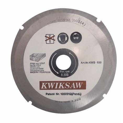 Disco tronzador Kwiksaw de 125 mm de diámetro