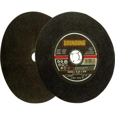 DISCO x TRONCATRICE -- GRINDING - PER FERRO 350X3X25 - MOLA