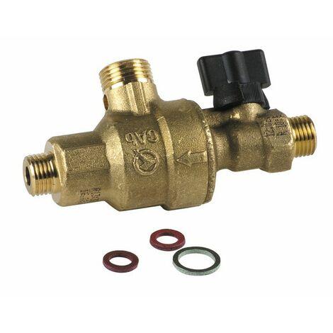 Disconnecteur avec robinet - DIFF pour ELM Leblanc : 87167700040