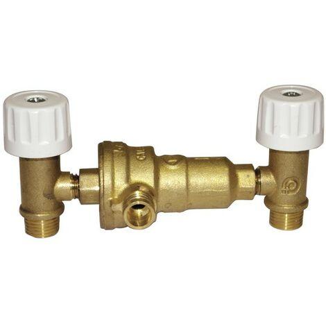 Disconnecteur robinets EQU MM1/4 - FERROLI : 39829140