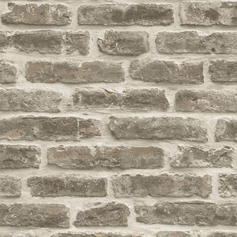discontinued 3d brick effect wallpaper slate stone rustic textured grey vinyl heavy L 1504056 3558299 1