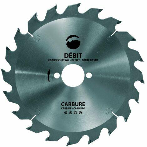 Discos corte Aluminio con Dientes TRAPEZOIDAL Widia